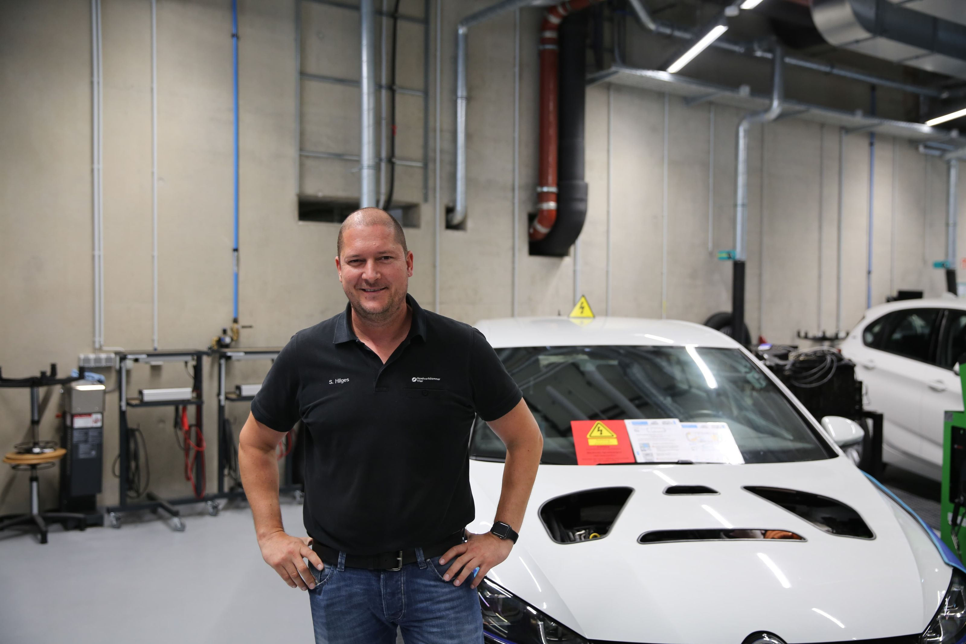Sebastian Hilges, Ausbilder, Trainer, HWK Trier, Automotive, Kfz-Technik