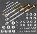 """Kfz-Werkzeugsatz 4, Steckschlüssel 1/2"""" (54 Teile), Einlagengröße 500x450mm"""