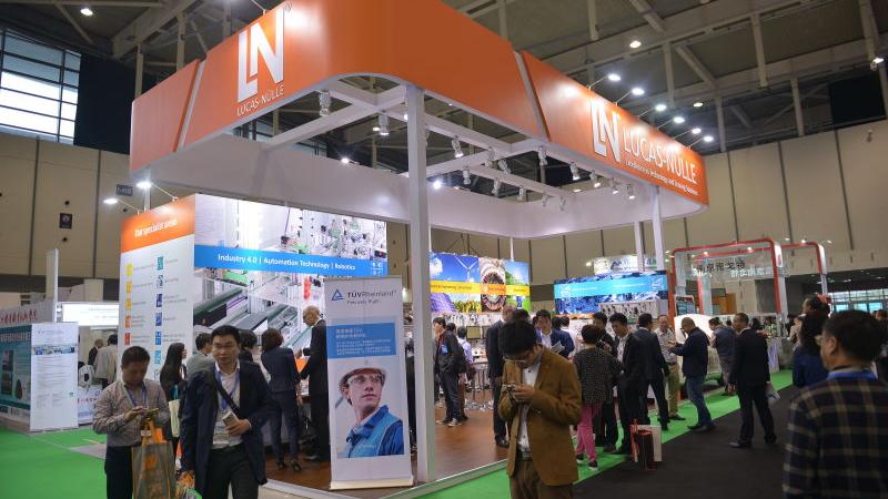 Premiere in China: Neue Technologie