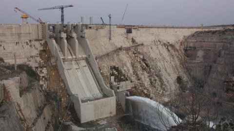 Die zweitgrößte Wasserkraftanlage Afrikas